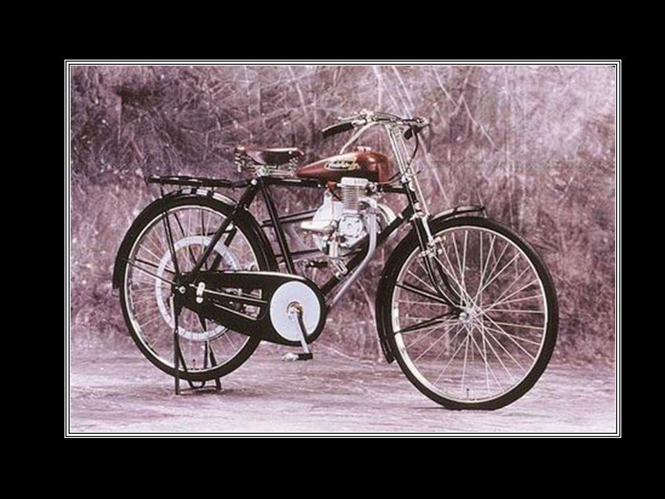 Criativo como de costume, ele adapta um pequeno motor à sua bicicleta, e sai às ruas. Os vizinhos ficam maravilhados e todos também querem as chamadas