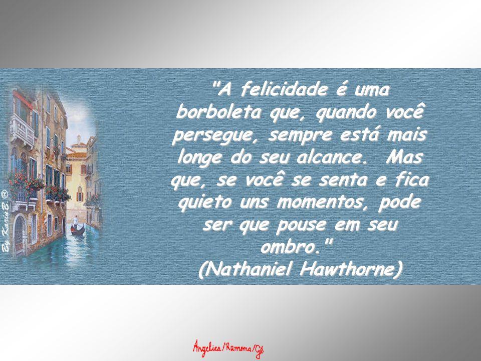 A suprema felicidade da vida, é a convicção de ser amada por aquilo que você é...