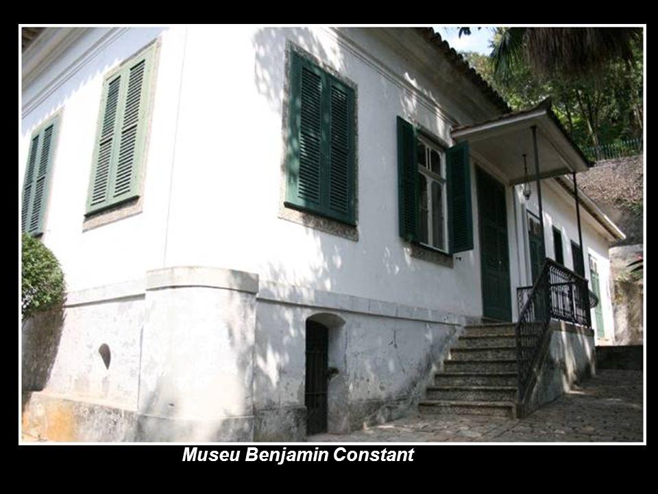 Museu Benjamin Constant A casa onde viveu Benjamin Constant, líder do movimento republicano, foi totalmente restaurada e transformada em museu