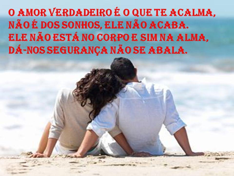 Amar é caminhar na mesma direção, É enfrentar juntos a dura realidade. Nos erros juntos fazer a correção, É viver na mesma cumplicidade.