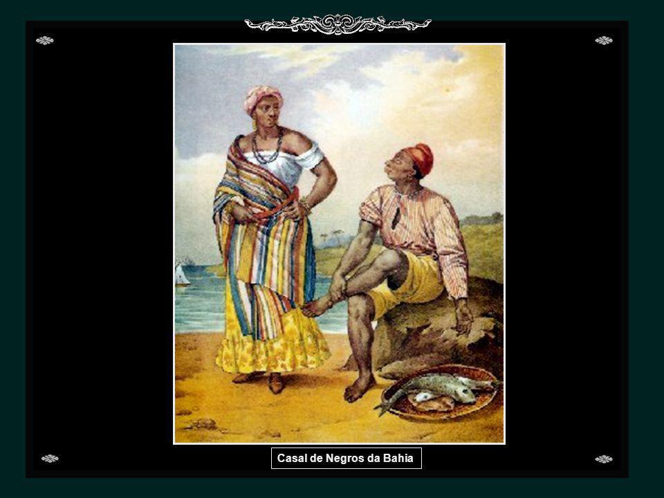 Casal de Negros da Bahia