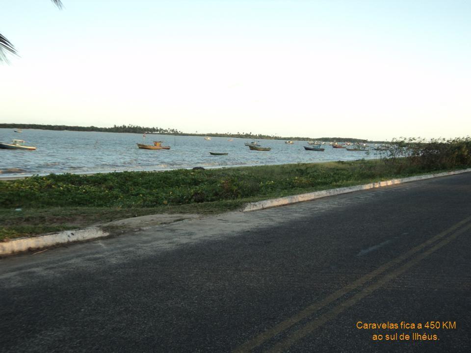 Olivença fica 20km ao sul de Ilhéus. Esta é a única estância hidromineral brasileira banhada pelo mar.
