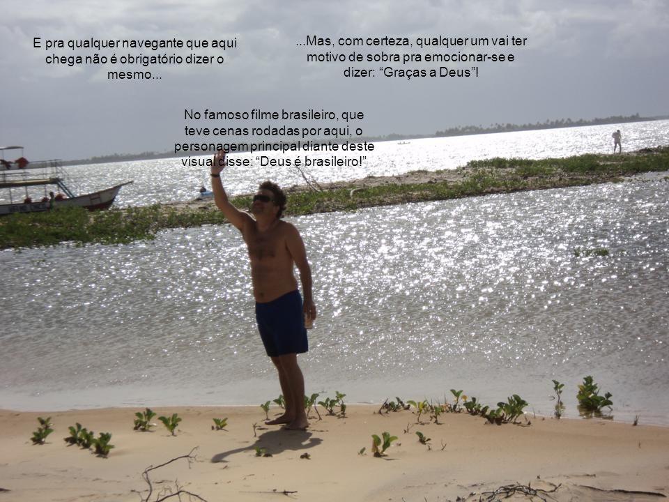 O Rio São Francisco nasce na Serra da Canastra, em Minas Gerais. Separa Minas da Bahia, Bahia de Pernambuco e Alagoas de Sergipe. E aqui, após percorr