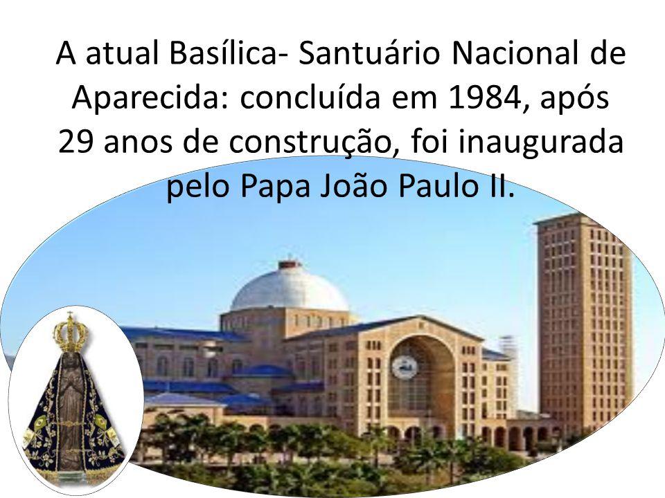 de Nossa Senhora Aparecida porque nascida no Brasil, tem Maria como mãe, padroeira e modelo, que se inculturou na realidade de seu povo (DE 11).
