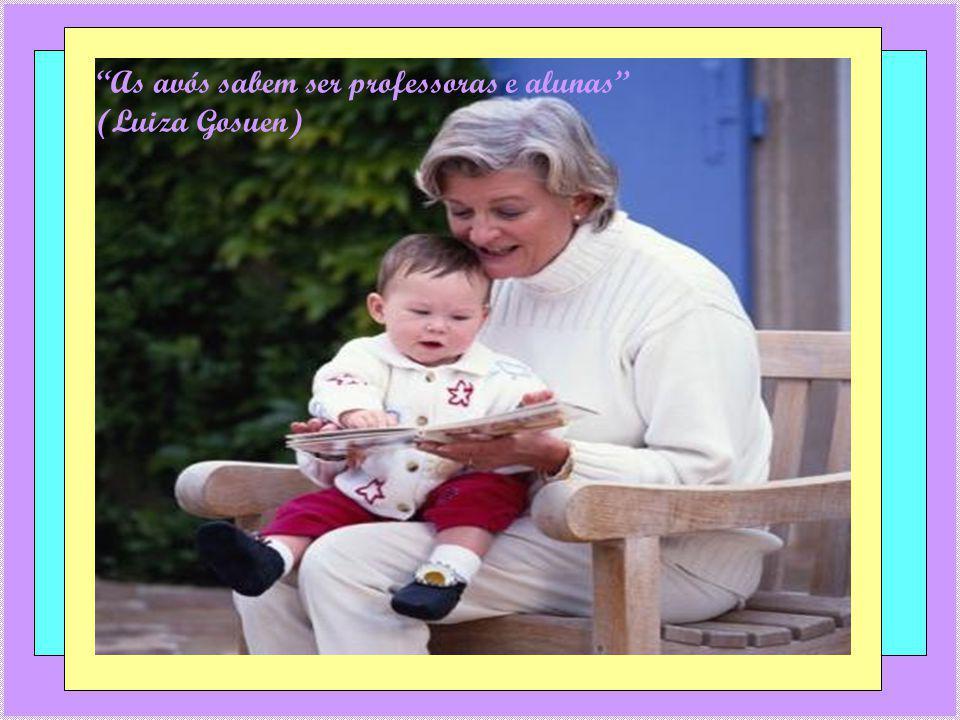 Beijo de avô é tão bom quanto brigadeiro (Luiza Gosuen)