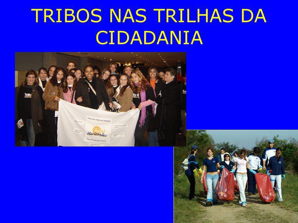 TRIBOS NAS TRILHAS DA CIDADANIA