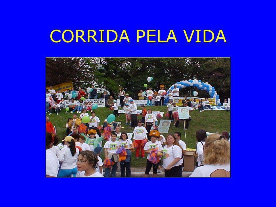 CORRIDA PELA VIDA