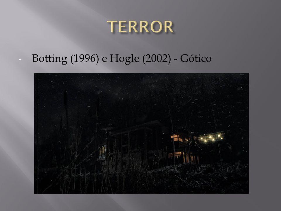 Botting (1996) e Hogle (2002) - Gótico