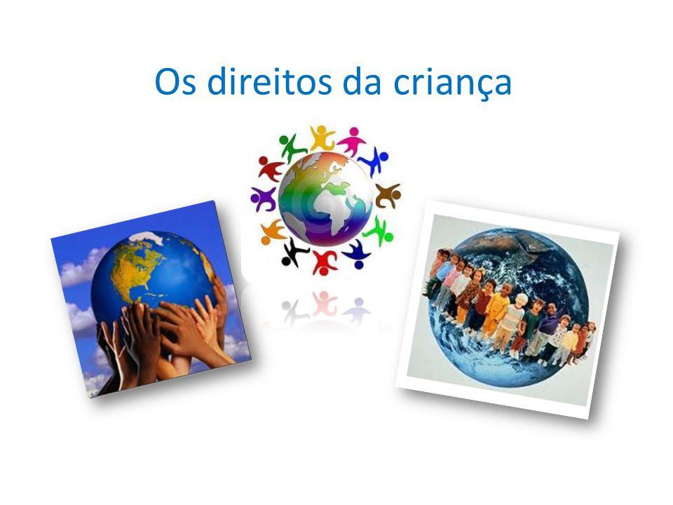 As crianças tem direito: a não discriminação - que significa que todas as crianças têm o direito de desenvolver todo o seu potencial – todas as crianças, em todas as circunstâncias, em qualquer momento, em qualquer parte do mundo.
