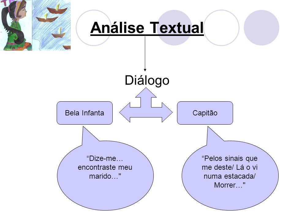 Análise Textual Diálogo Bela InfantaCapitão Dize-me… encontraste meu marido…