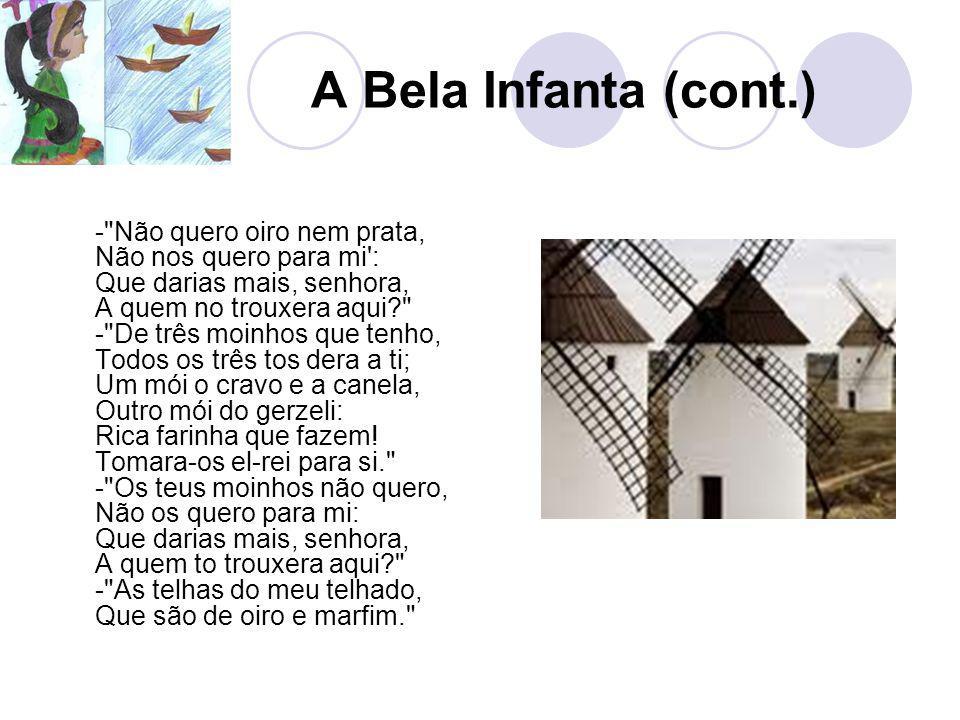 A Bela Infanta (cont.) -