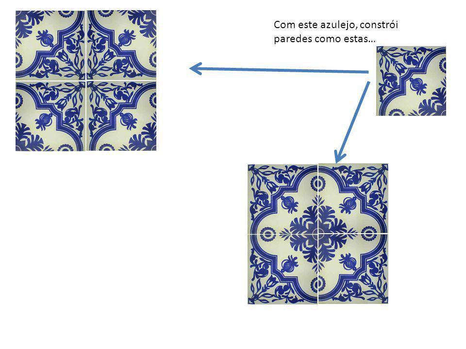 Com este azulejo, constrói paredes como estas…