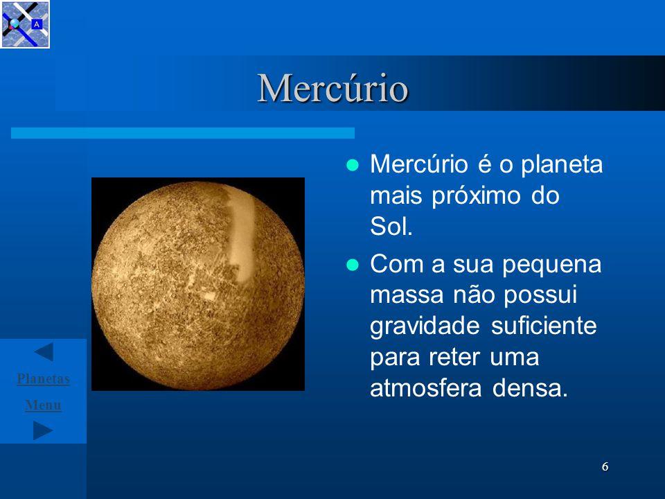 Planetas do Sistema Solar Mercúrio Vénus Terra Marte Júpiter Saturno Urano Neptuno