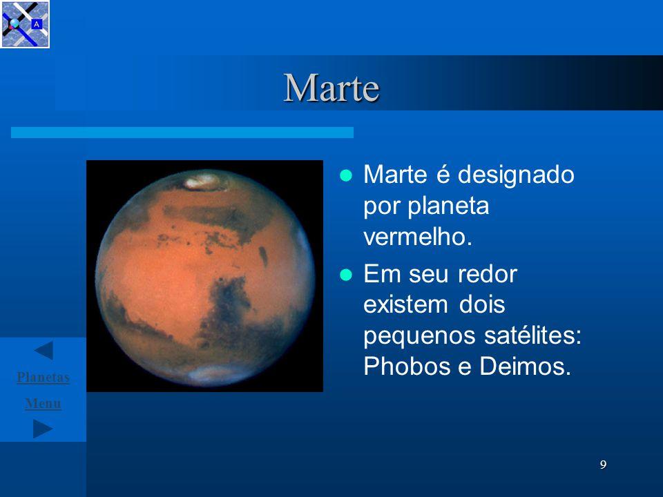 Menu Planetas 8 Terra Terra o planeta azul.É o terceiro planeta do Sistema Solar.