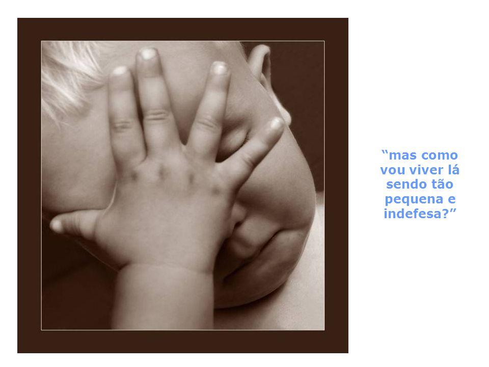 Deus abraça a criança
