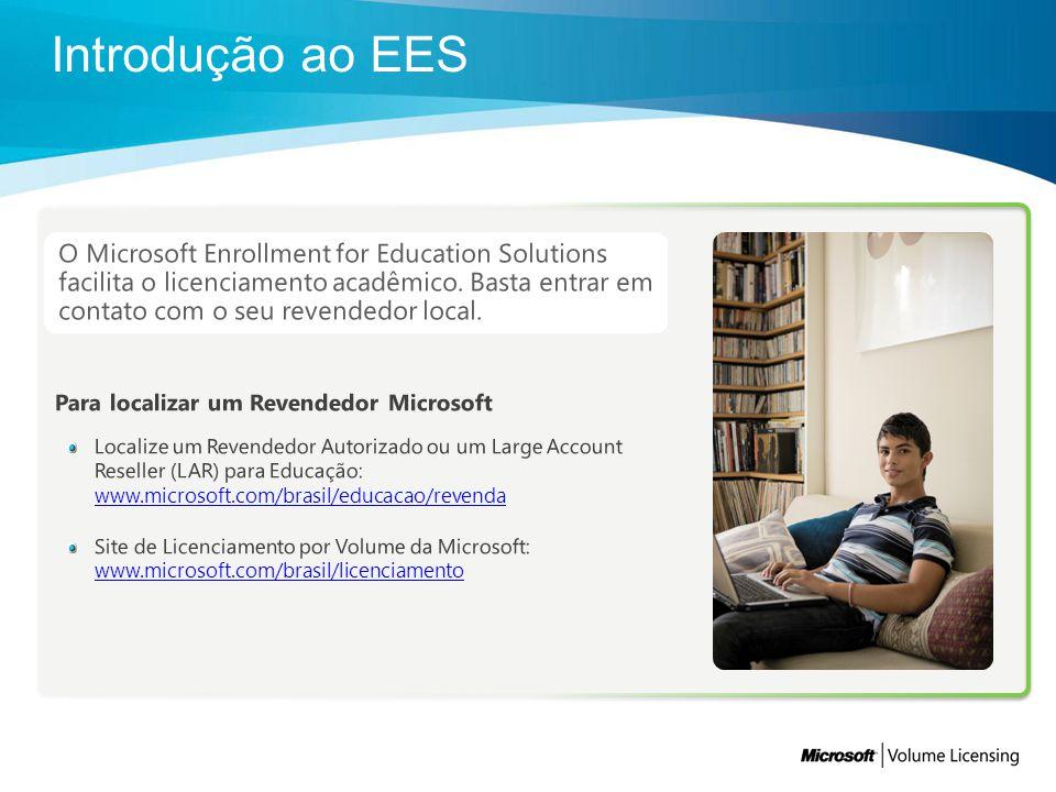O Microsoft Enrollment for Education Solutions facilita o licenciamento acadêmico. Basta entrar em contato com o seu revendedor local.