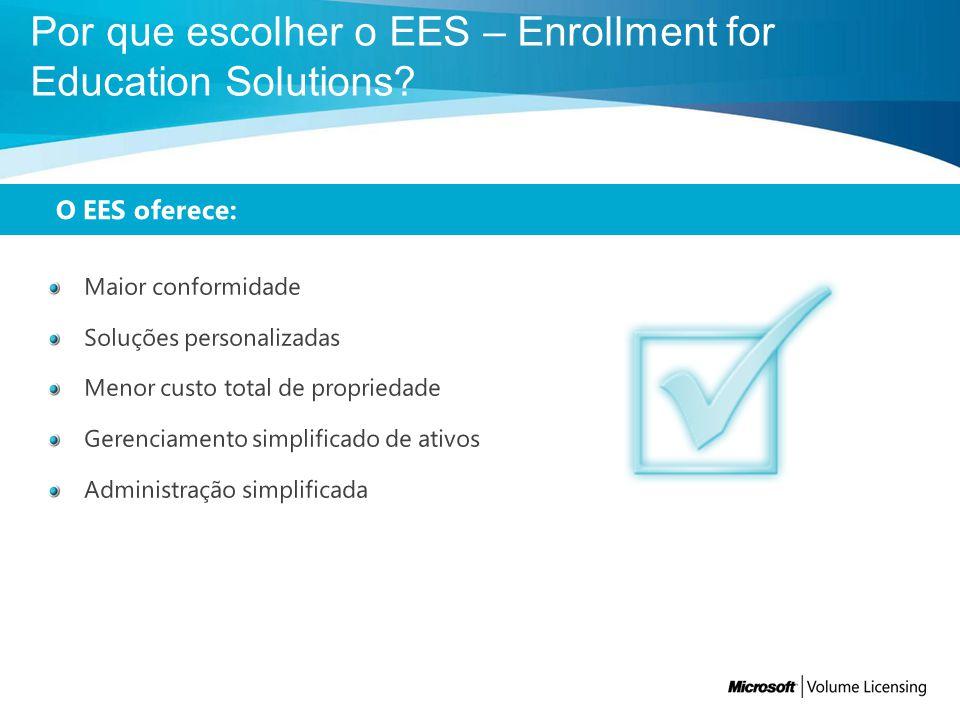 O OVS-ES inclui: Uma visão geral do programa, bem como termos e condições gerais.