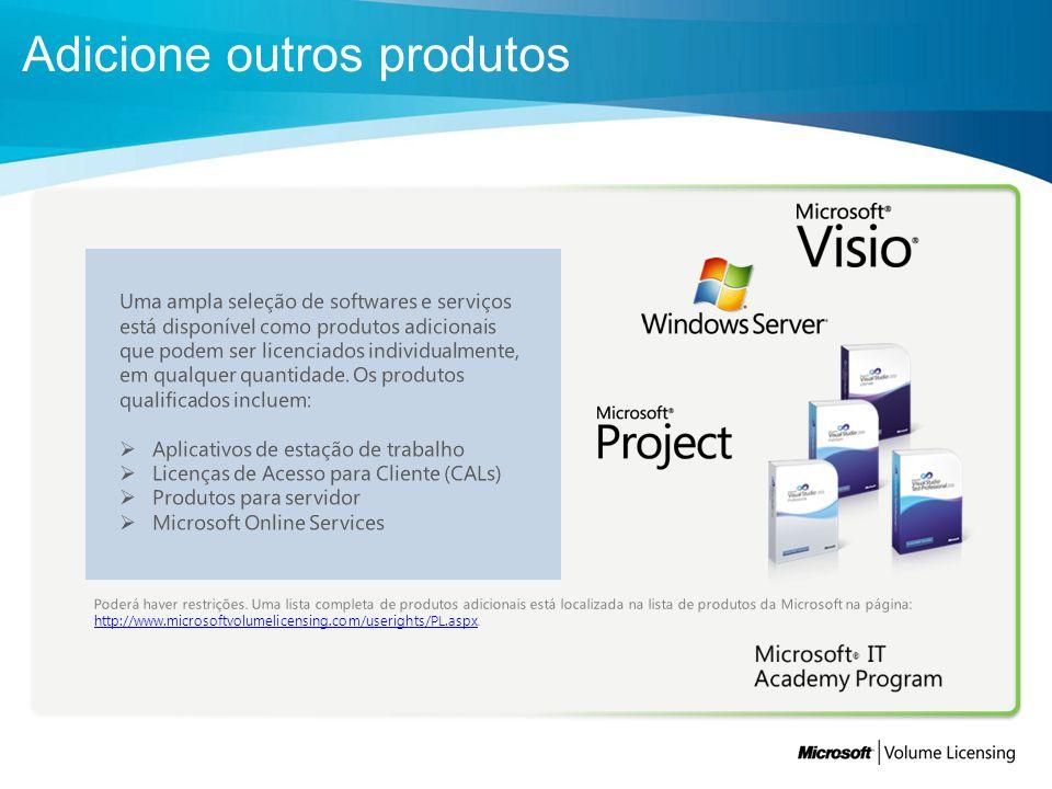 O Microsoft Enrollment for Education Solutions facilita o licenciamento acadêmico.