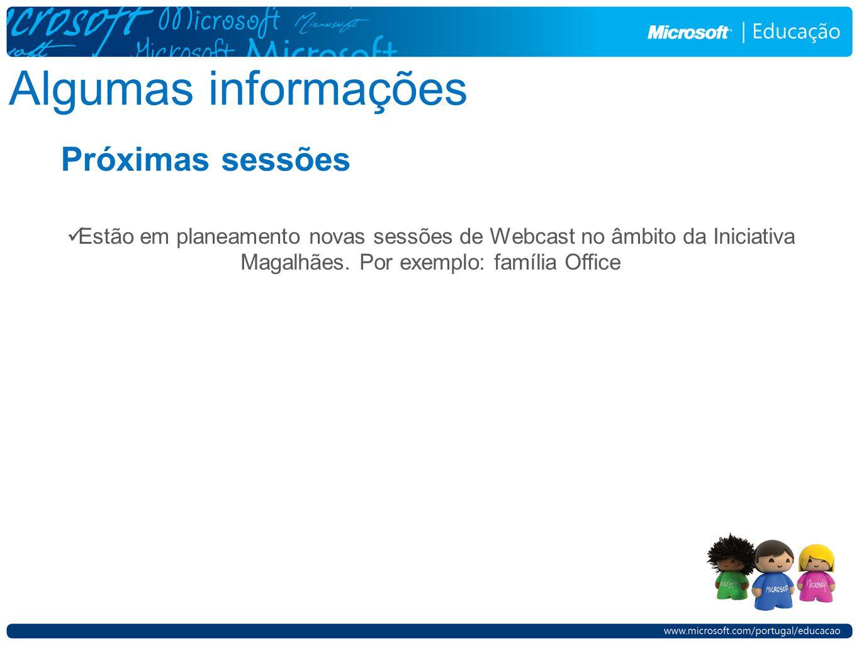 Se seleccionar Upload deve utilizar o seu Windows Live ID.
