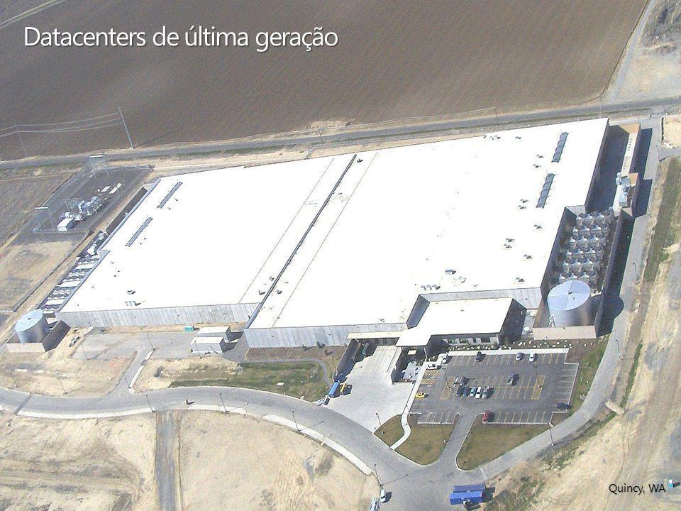 Datacenters de última geração Quincy, WA