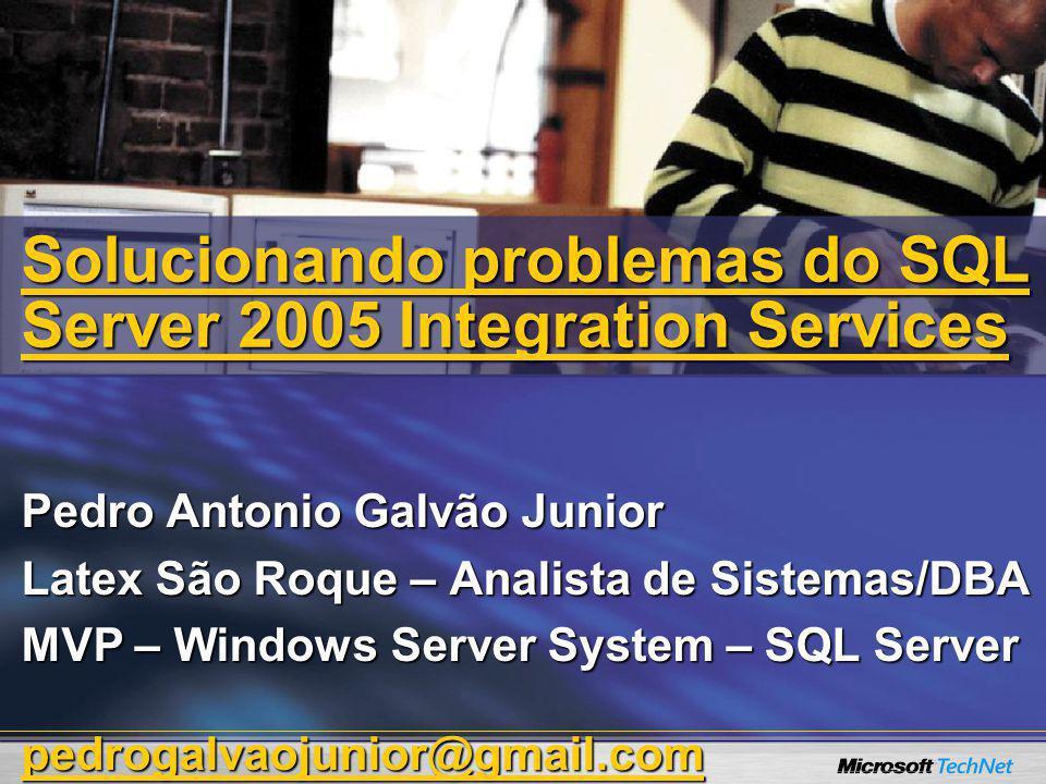 Pedro Antonio Galvão Junior Latex São Roque – Analista de Sistemas/DBA MVP – Windows Server System – SQL Server pedrogalvaojunior@gmail.com Solucionan