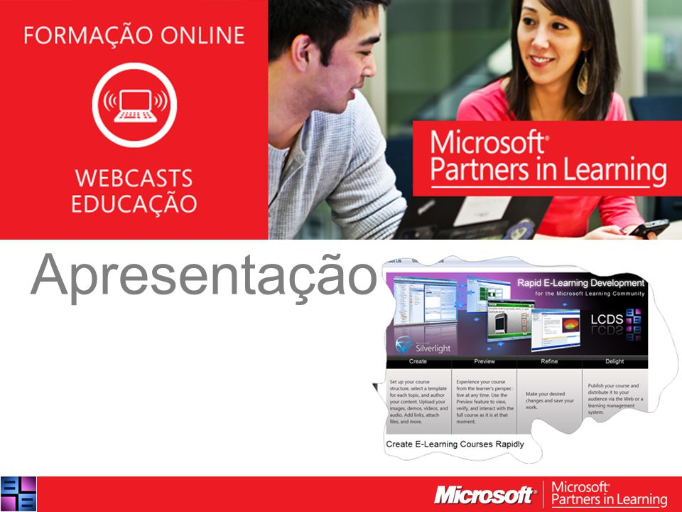 WEBCASTS EDUCAÇÃO 2012 Apresentação