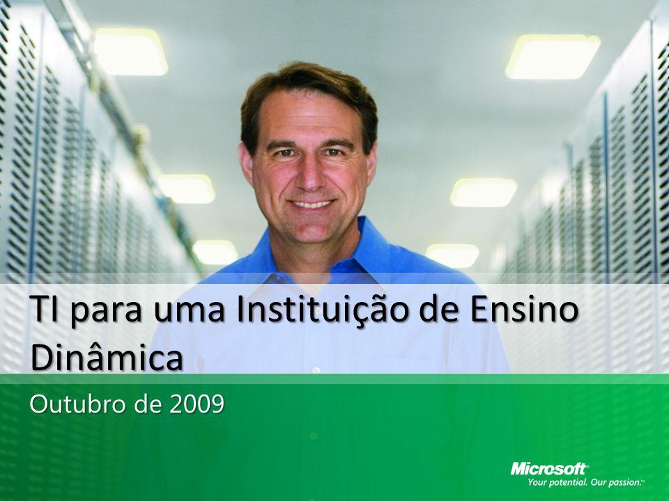 TI para uma Instituição de Ensino Dinâmica Outubro de 2009