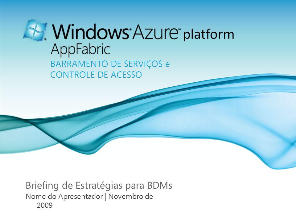 Página 2 Agenda Esclarecimento de dúvidas a respeito da computação na nuvem Software + Serviços se une à web Apresentando a Plataforma Windows Azure Entendendo o Windows Azure Platform AppFabric Usando o Windows Azure Platform AppFabric para vencer desafios da nuvem
