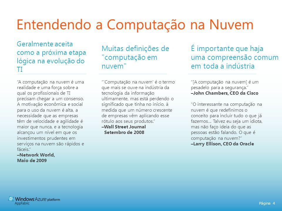 Página 15 Benefícios Simplicidade Eficiência Agilidade Foco CONECTIVIDADE PRODUTIVIDADE CONFIANÇA BARRAMENTO DE SERVIÇOS CONTROLE DE ACESSO