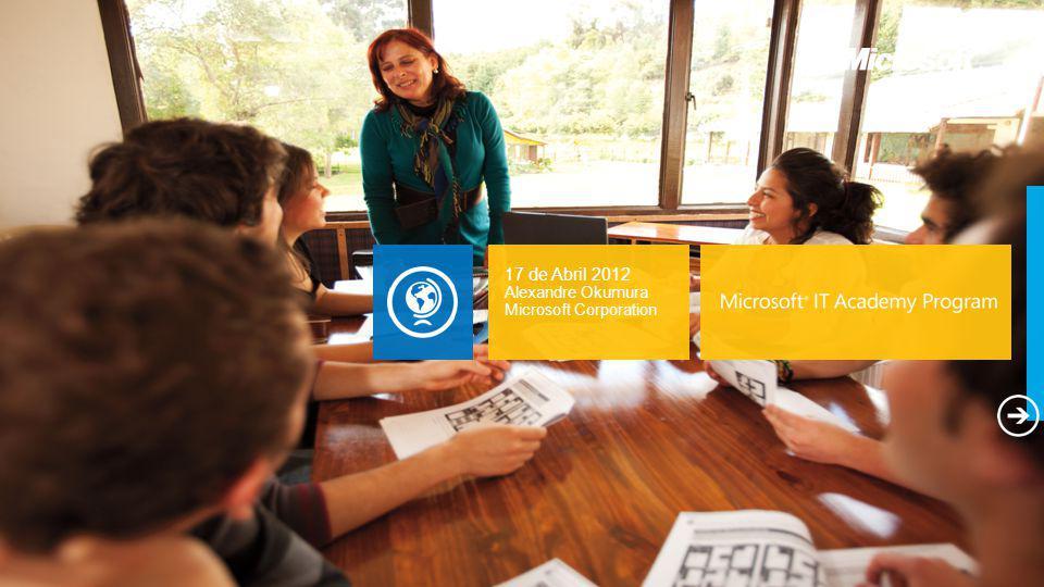 E-Learning 12 >O QUE É ISSO?: Acesso ilimitado a até 250 cursos de e-Learning Microsoft premiados acessíveis pela Internet.