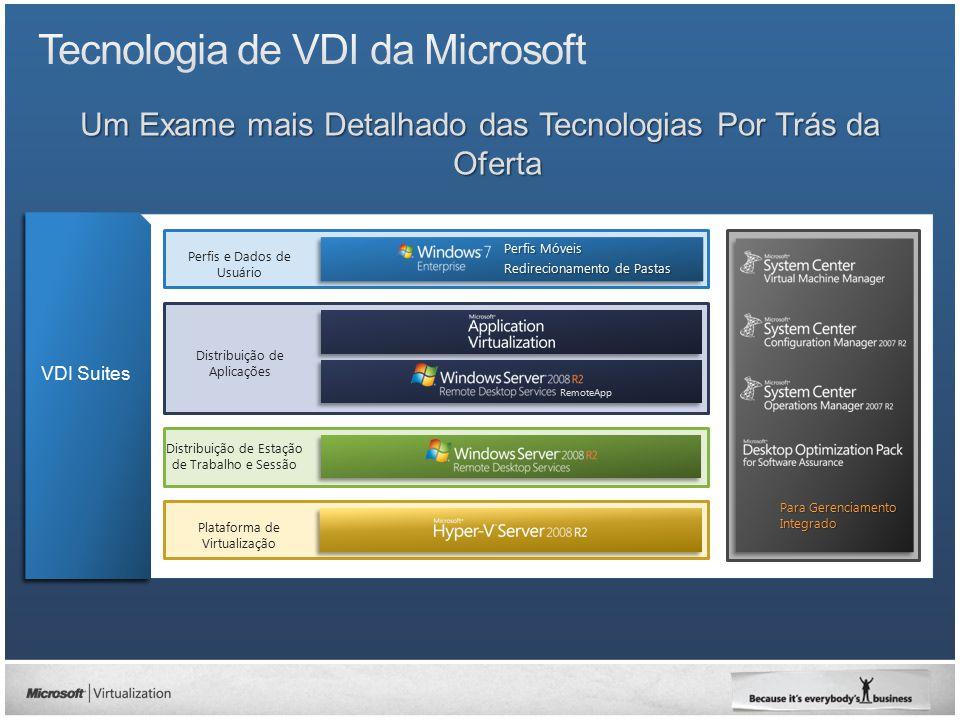 VDI Standard Suite / VDI Premium Suite Gerenciamento VMM Client ML ConfigMGR and OpsMgr Standard Server ML Licenças de Servidor de Gerenciamento Gerenciamento de hardware de Servidor Físico SO de Servidor Host / gerenciamento de hipervisor (APENAS cargas de VDI, inválido para outras cargas de trabalho) Core CAL / ECAL (OpsMgr Client ML + ConfigMgr Client ML) Dispositivo cliente / gerenciamento de SO cliente VECD Gerenciamento de SO Cliente de VDI Est.