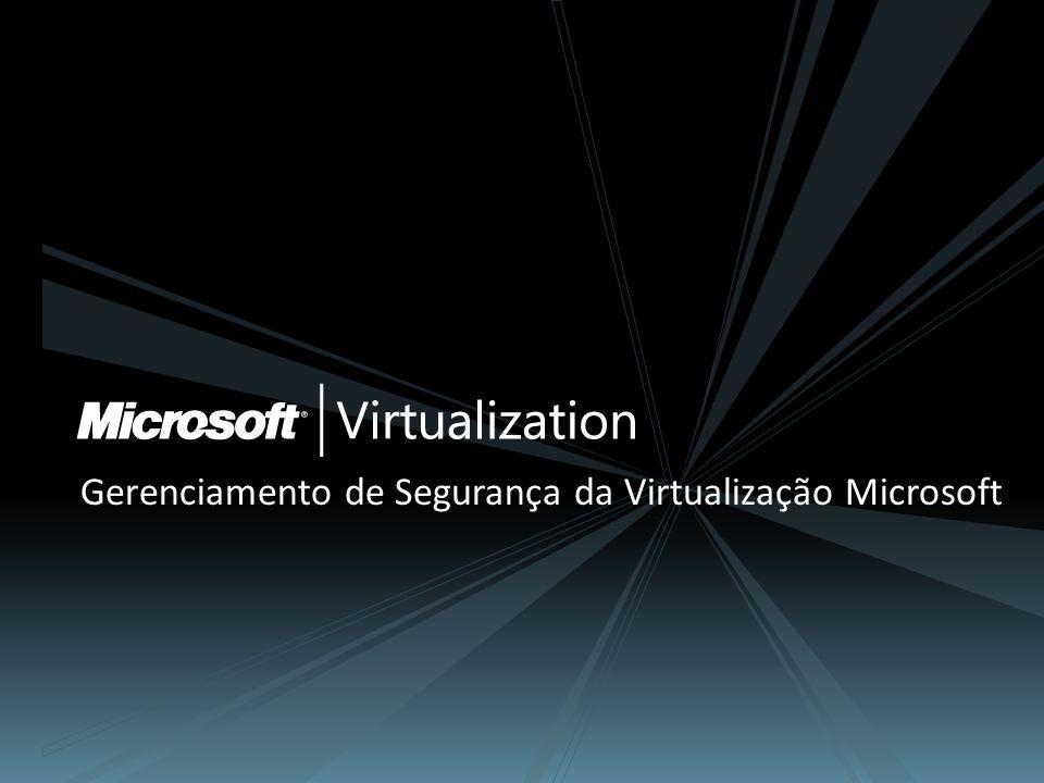 Gerenciamento de Segurança da Virtualização Microsoft