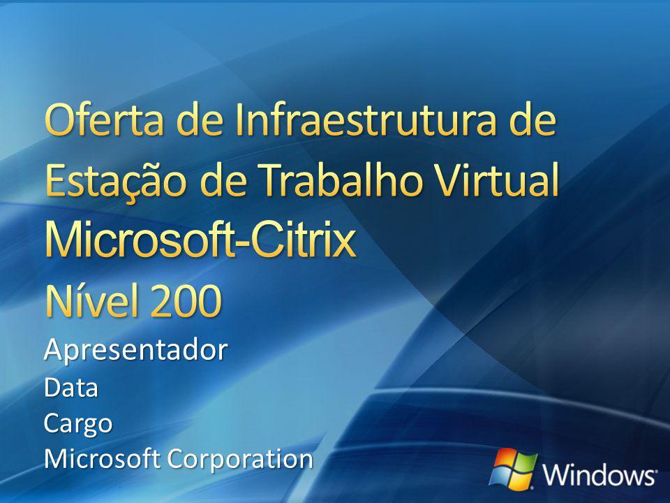 R2 para Gerenciamento Integrado Integrado Distribuição de Estação de Trabalho Opções de Distribuição de Aplicações R2 Aplicação remota Windows VECD XenDesktop 12