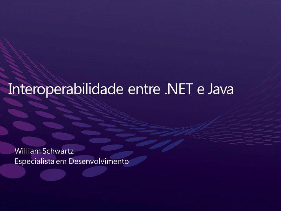 Aplicações podem/devem trabalhar em conjunto Plataformas diferentes Linguagens diferentes Fabricantes diferentes Versões diferentes Colaborar, integrar, interoperar