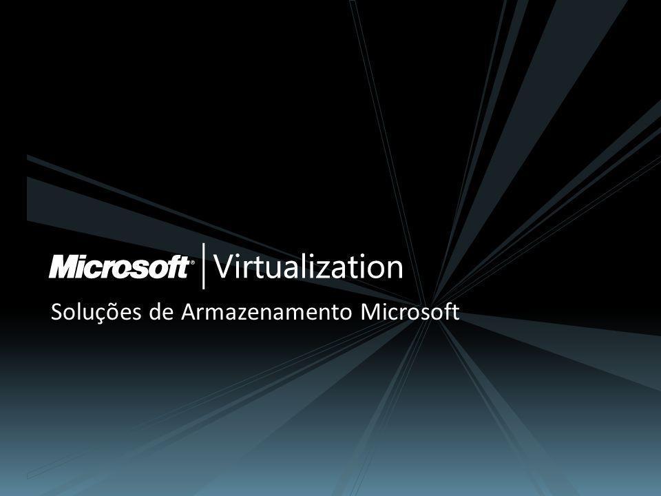 Soluções de Armazenamento Microsoft