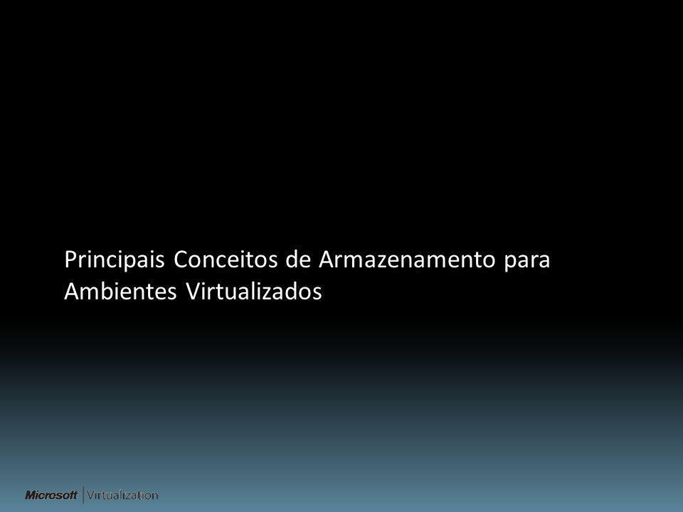 Principais Conceitos de Armazenamento para Ambientes Virtualizados