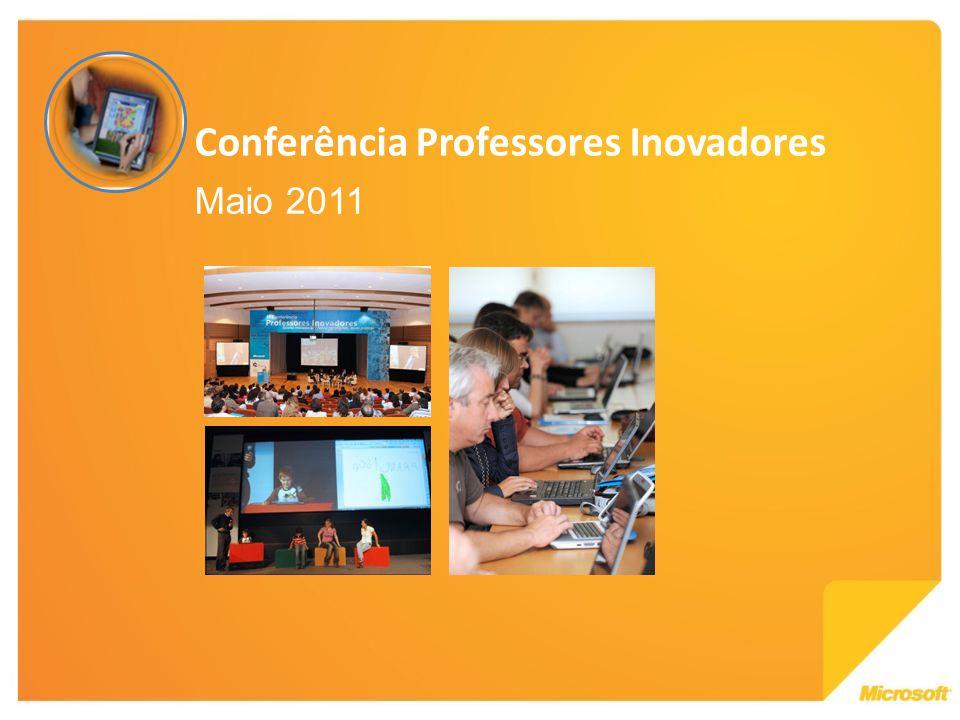 Conferência Professores Inovadores Maio 2011