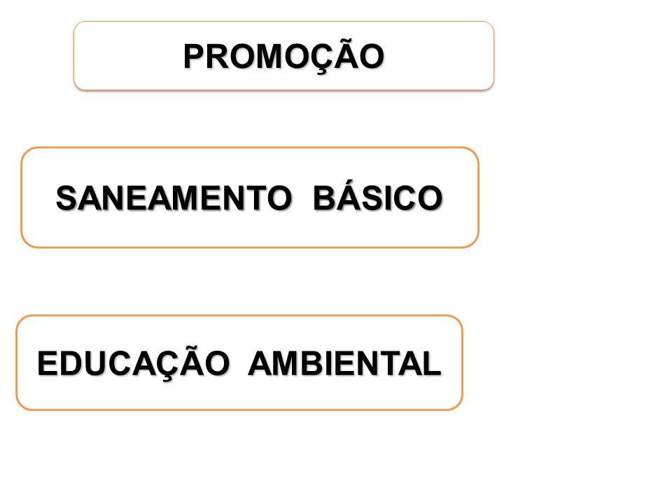 PROMOÇÃOPROMOÇÃO SANEAMENTO BÁSICO EDUCAÇÃO AMBIENTAL