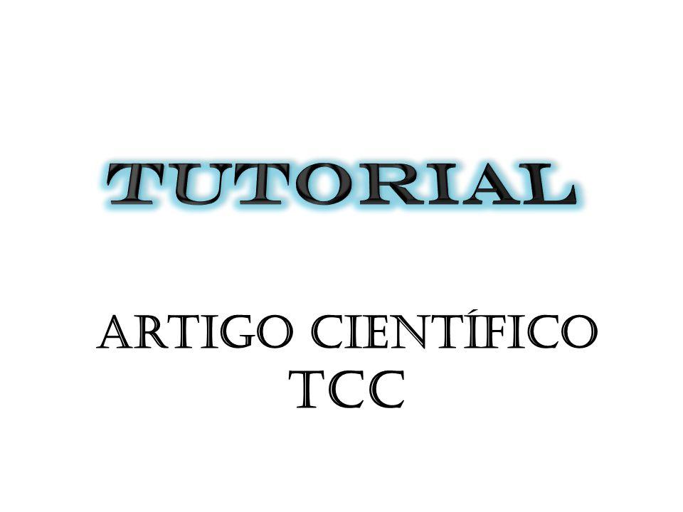 Artigo científico TCC