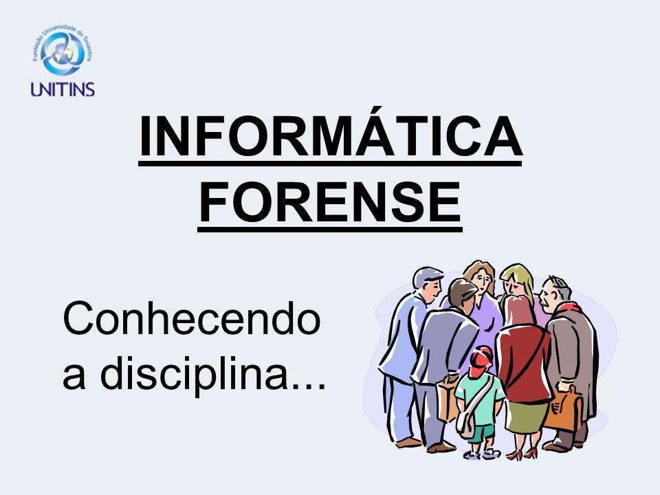 - Fornecer conceitos básicos de Informática Jurídica, familiarizando os alunos com os respectivos termos técnicos.