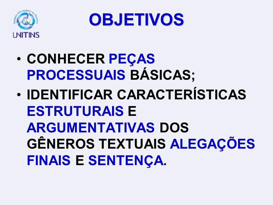 PROFA. SIBELE LETÍCIA R. O. BIAZOTTO WEB-TUTORA: MAÍRA BOGO BRUNO AULA 14 PRODUÇÃO TEXTUAL JURÍDICA III: TEMA 6 (P.54) - ALEGAÇÕES FINAIS E TEMA 7 (P.