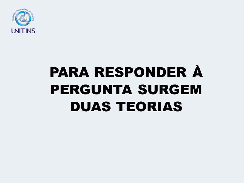 SÍNTESE DO TEMA: -RESPONSABILIDADE SUBJETIVA; -TEORIA DA CULPA.