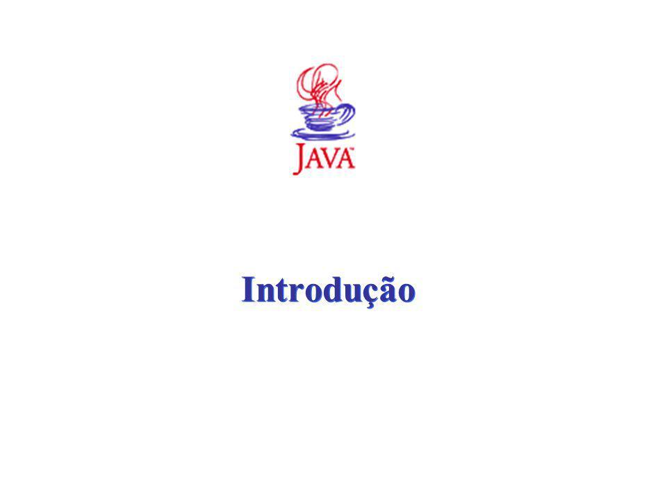 C LASSES A VANÇADAS java.security Importa a funcionalidade da criptografia, incluindo assinaturas digitais, gerenciamento de chaves e gerenciamento de certificados java.sql Permite a conexão aos sistemas de banco de dados tradicionais, inclusive permitindo a execução de instruções SQL