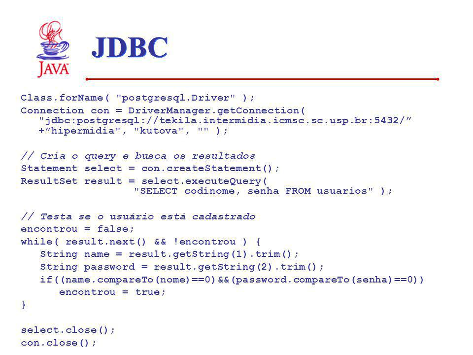 JDBC Class.forName(
