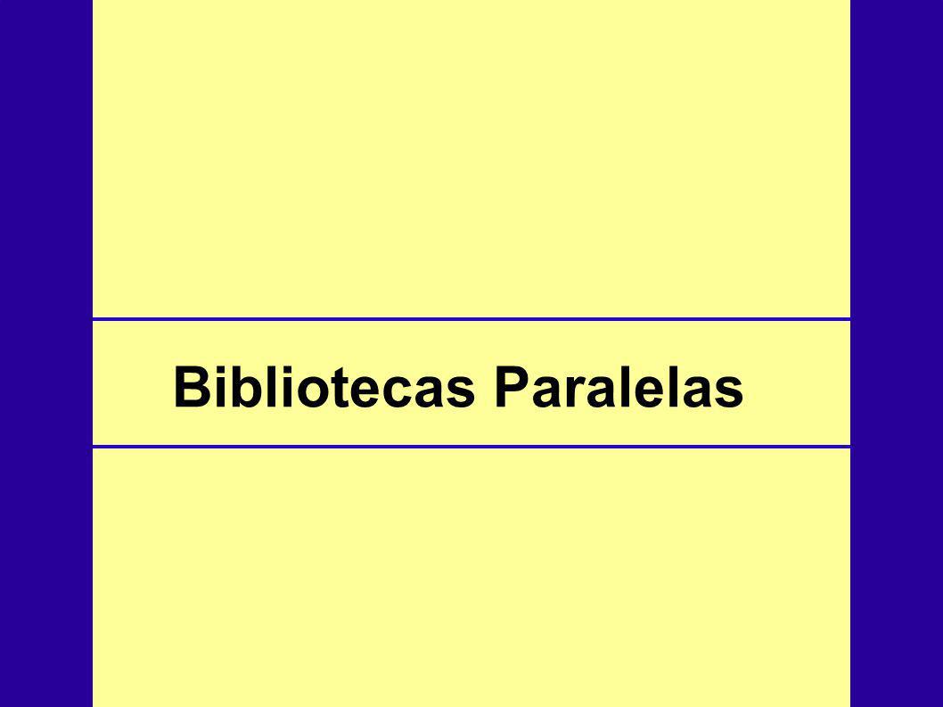 Padrão de biblioteca de passagem de mensagem para sistemas paralelos.