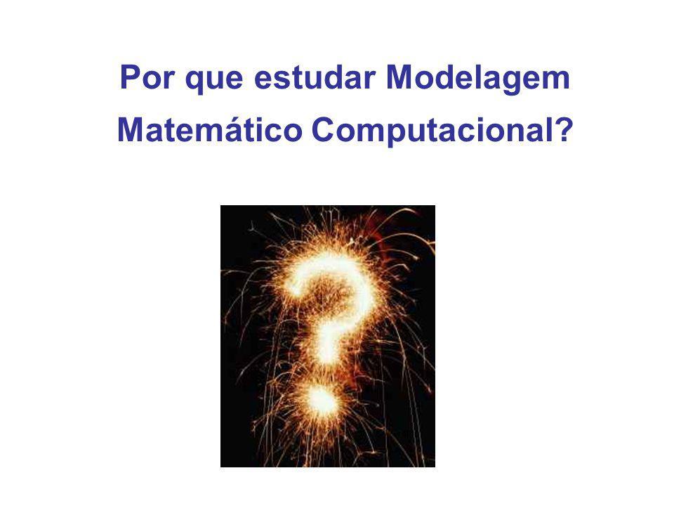 Por que estudar Modelagem Matemático Computacional?