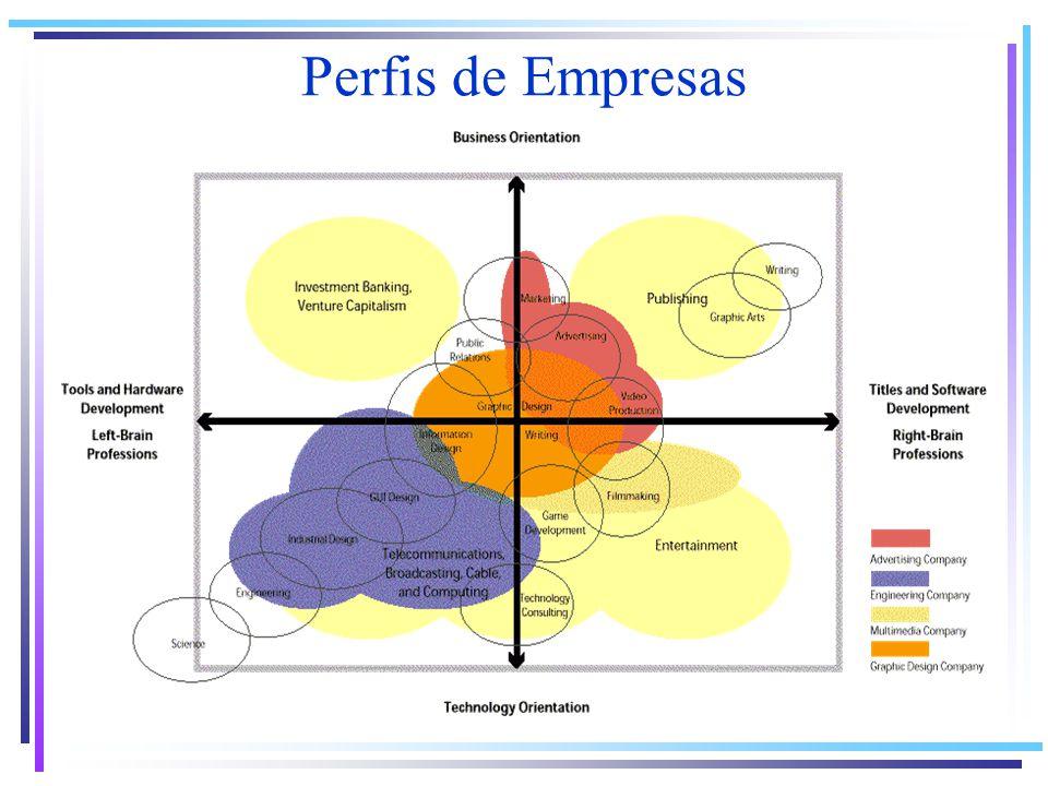 Perfis de Empresas