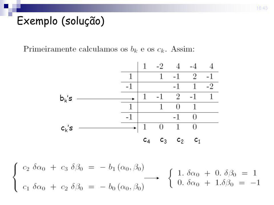 22 Sep 2008. 16:43 Exemplo (solução) bksbks ckscks c2c2 c1c1 c3c3 c4c4