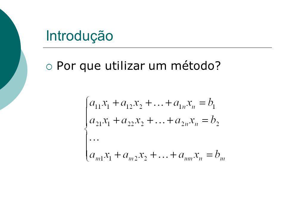 Eliminação de Gauss Algoritmo...