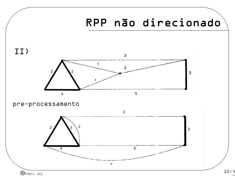 FMBT/ AMC 10:43 19 mar 2009. RPP não direcionado II) pre-processamento
